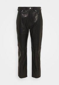 Iro - GNEISS TROUSERS - Spodnie skórzane - black - 6
