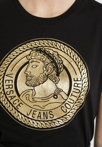 Versace Jeans Couture - T-shirt print - nero - 5
