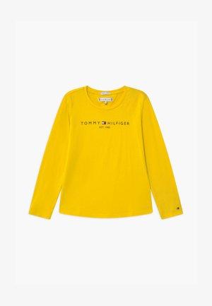 ESSENTIAL TEE - Långärmad tröja - yellow