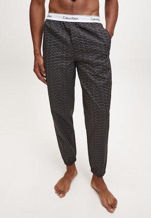 JOGGER - Pyjama bottoms - mini square logo_black