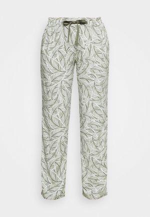 MIX & MATCH TROUSERS  - Pyjama bottoms - sage green