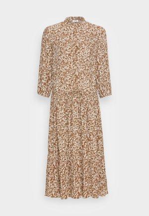 DRESS - Shirt dress - multi/brown ochre