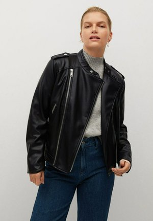 BARROW8 - Faux leather jacket - noir