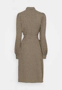 Freequent - Shirt dress - beige/black - 1