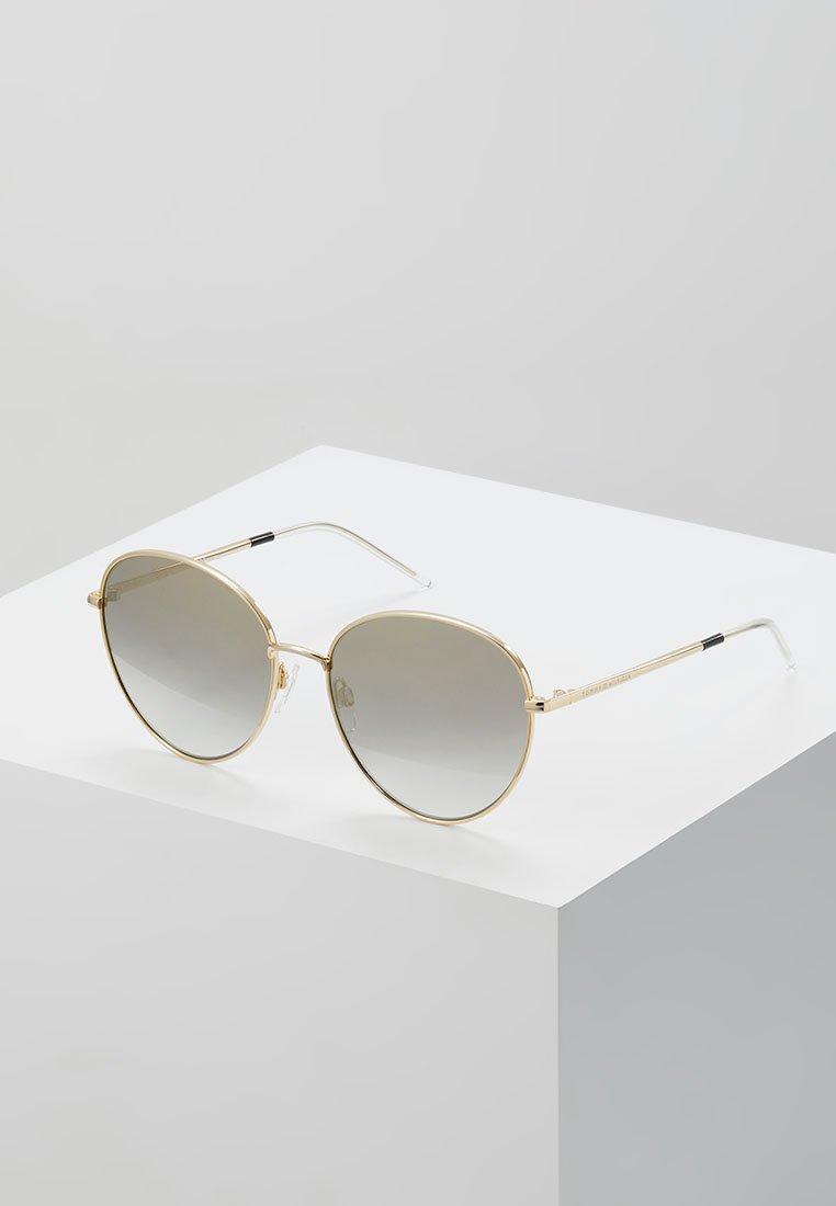 Tommy Hilfiger - Okulary przeciwsłoneczne - gold-coloured/black