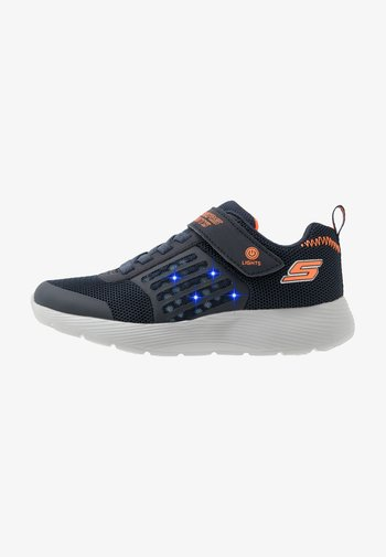 DYNA-LIGHTS - Trainers - navy/orange