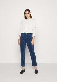 CLOSED - PEDAL PUSHER - Trousers - archive blue - 1
