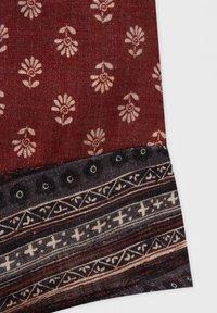 PULL&BEAR - Wrap skirt - mottled light red - 6