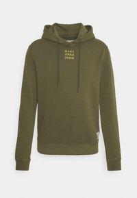 Marc O'Polo DENIM - LONG SLEEVE HOOD - Sweatshirt - fresh olive - 0