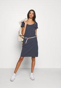 Ragwear - MONTANA  - Žerzejové šaty - navy - 1