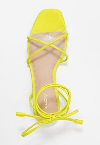 ALDO - CANDID - Sandály - bright yellow - 3
