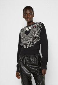Pinko - ADA  COTONE ORGANICO - Sweater - black - 0
