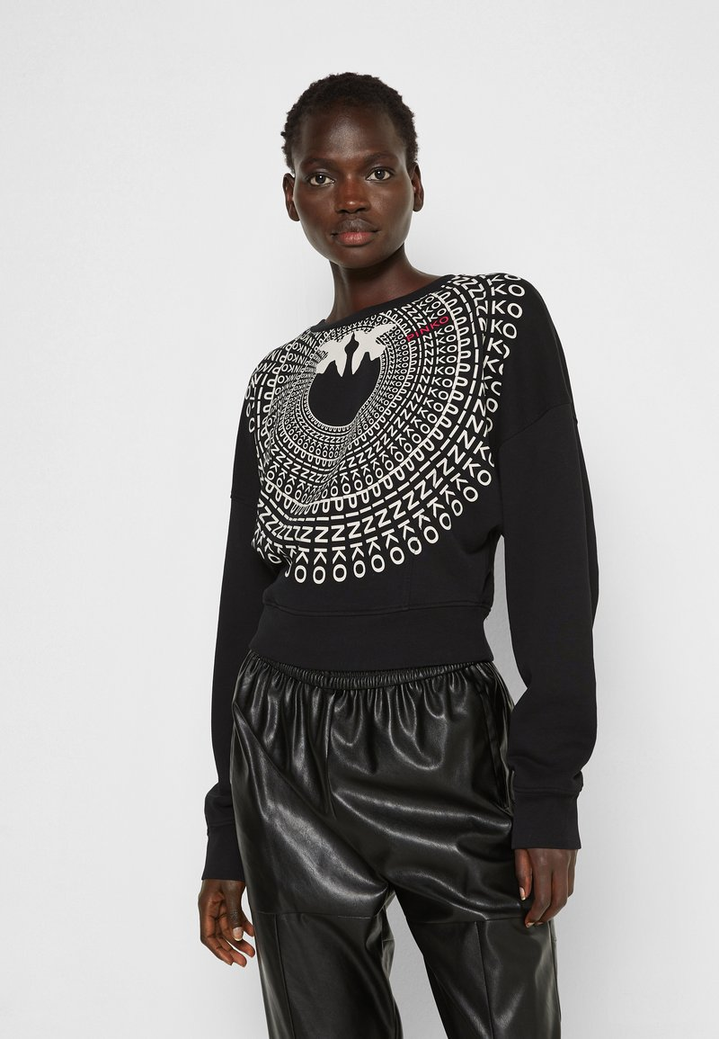 Pinko - ADA  COTONE ORGANICO - Sweater - black