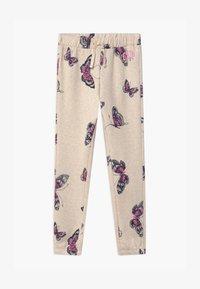 GAP - GIRLS LOGO - Teplákové kalhoty - mottled beige - 0