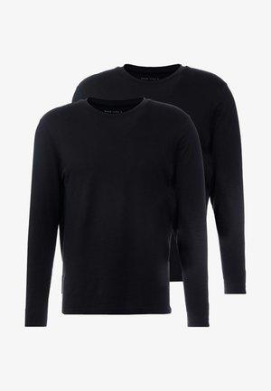 2 PACK - T-shirt à manches longues - black