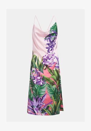 BLUMENPRINT - Day dress - mehrfarbe rose