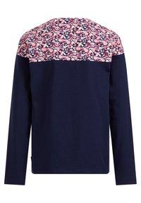 WE Fashion - MET DESSIN - Langarmshirt - blue - 1