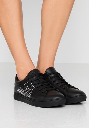 MARIE - Trainers - black/silver