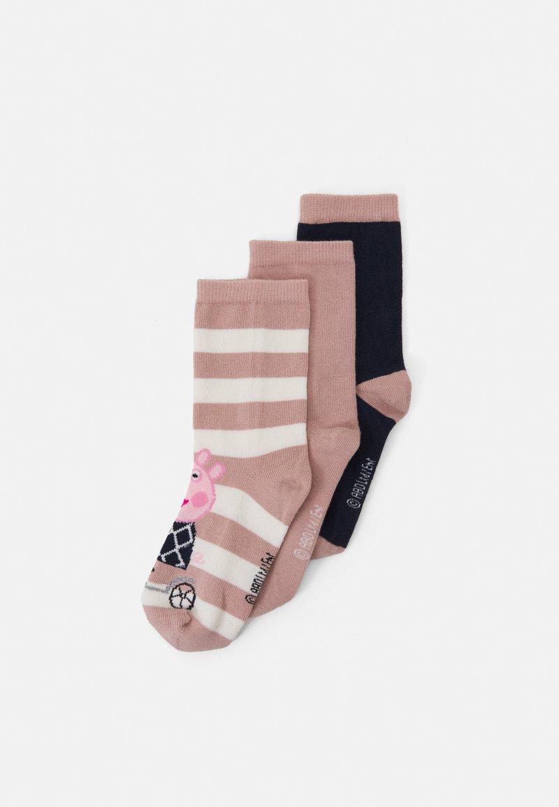 Name it - NMFPEPPAPIG JAMILLA SOCKS 3 PACK - Socks - adobe rose