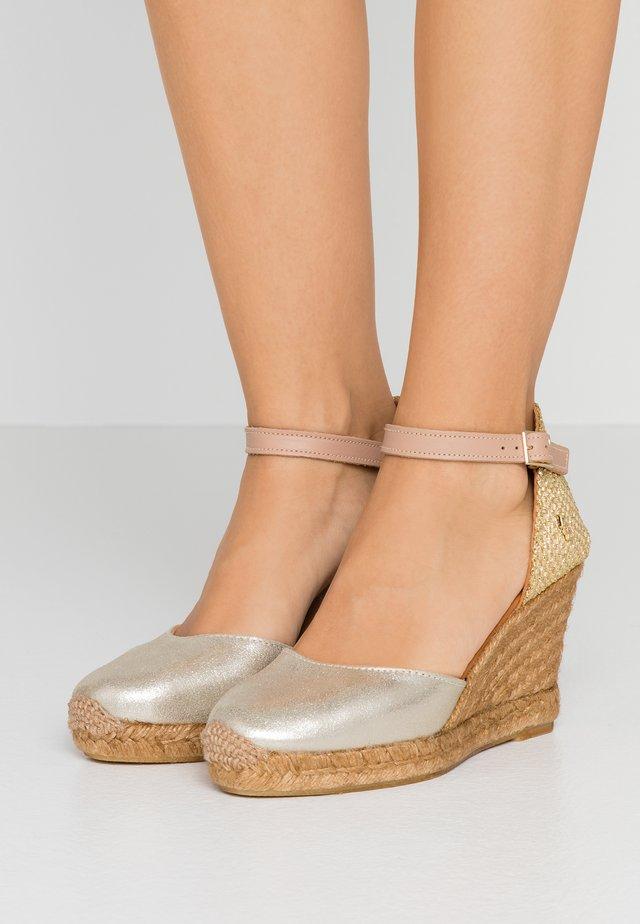 MONTY - High heeled sandals - gold