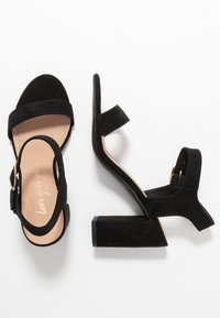 New Look - VIMS - High heeled sandals - black - 3