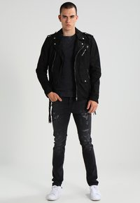 Be Edgy - BECHAIN - Denim jacket - black - 1