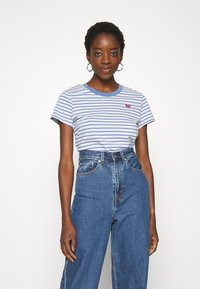 Levi's® - PERFECT TEE - Triko s potiskem - silphium colony blue - 0