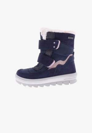 FLAVIA - Winter boots - blau/rosa