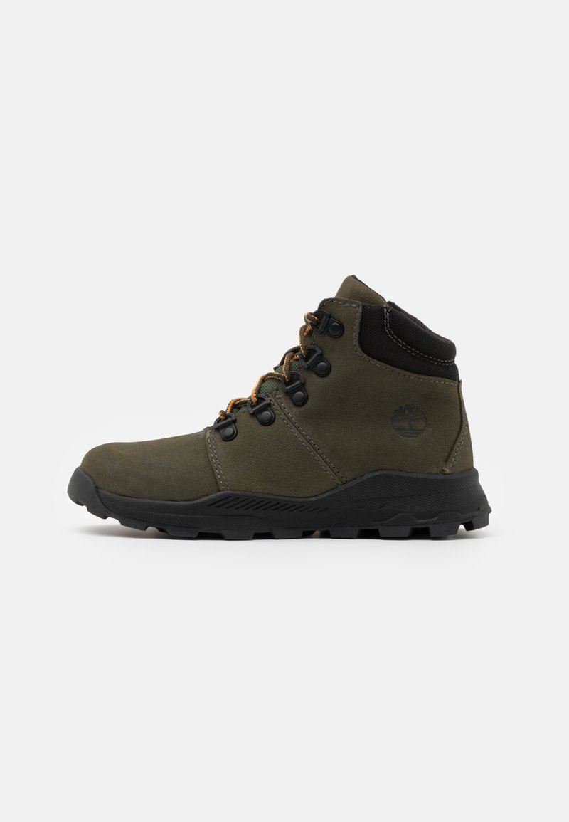 Timberland - BROOKLYN HIKER UNISEX - Lace-up ankle boots - grape leaf