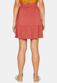 edc by Esprit - A-line skirt - terracotta - 2