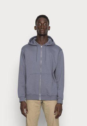 STANDARD ZIP HOODIE - Zip-up sweatshirt - blue