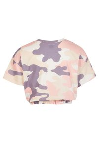 River Island - T-shirt print - pink - 1
