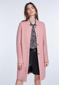 SET - Classic coat - rose - 0