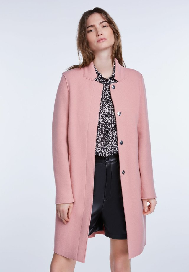 Manteau classique - rose