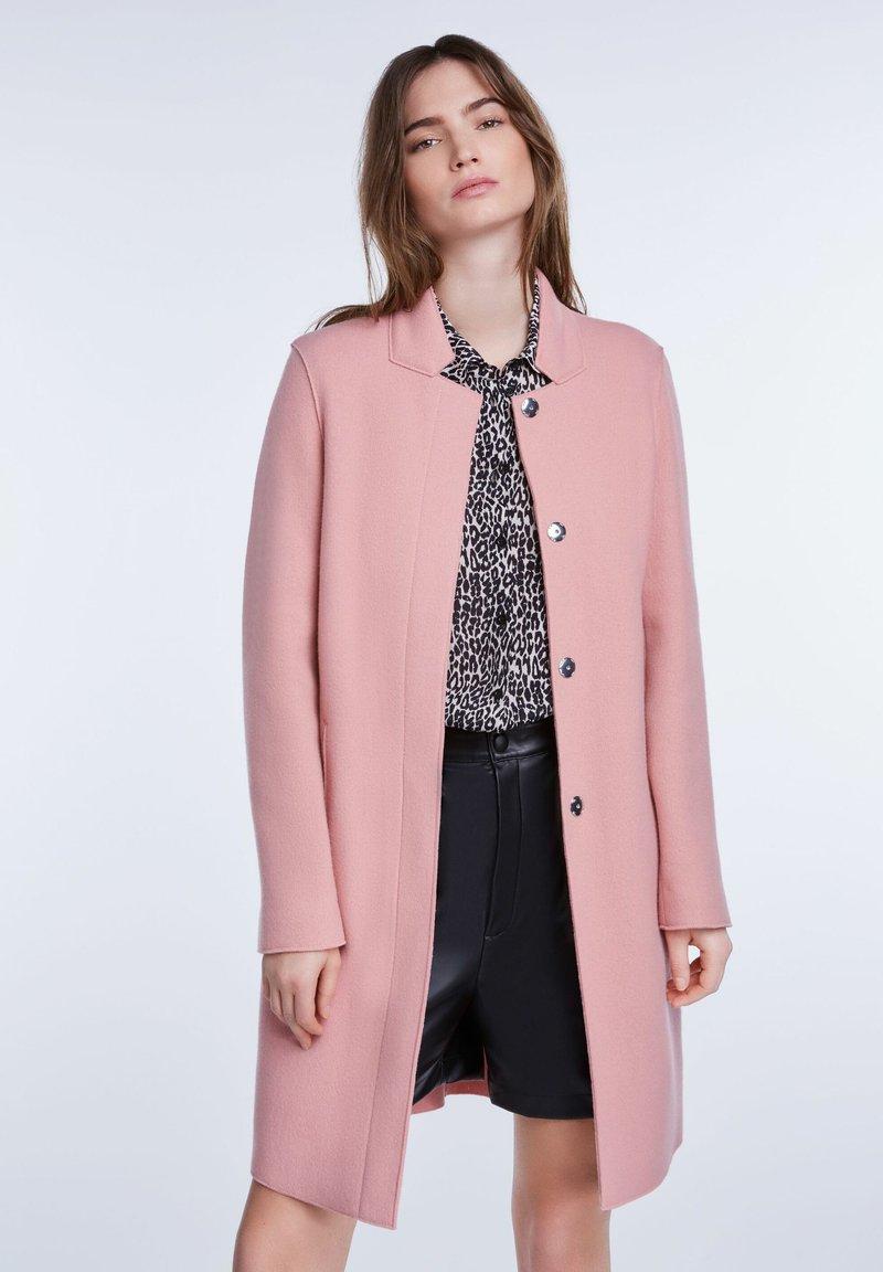 SET - Classic coat - rose