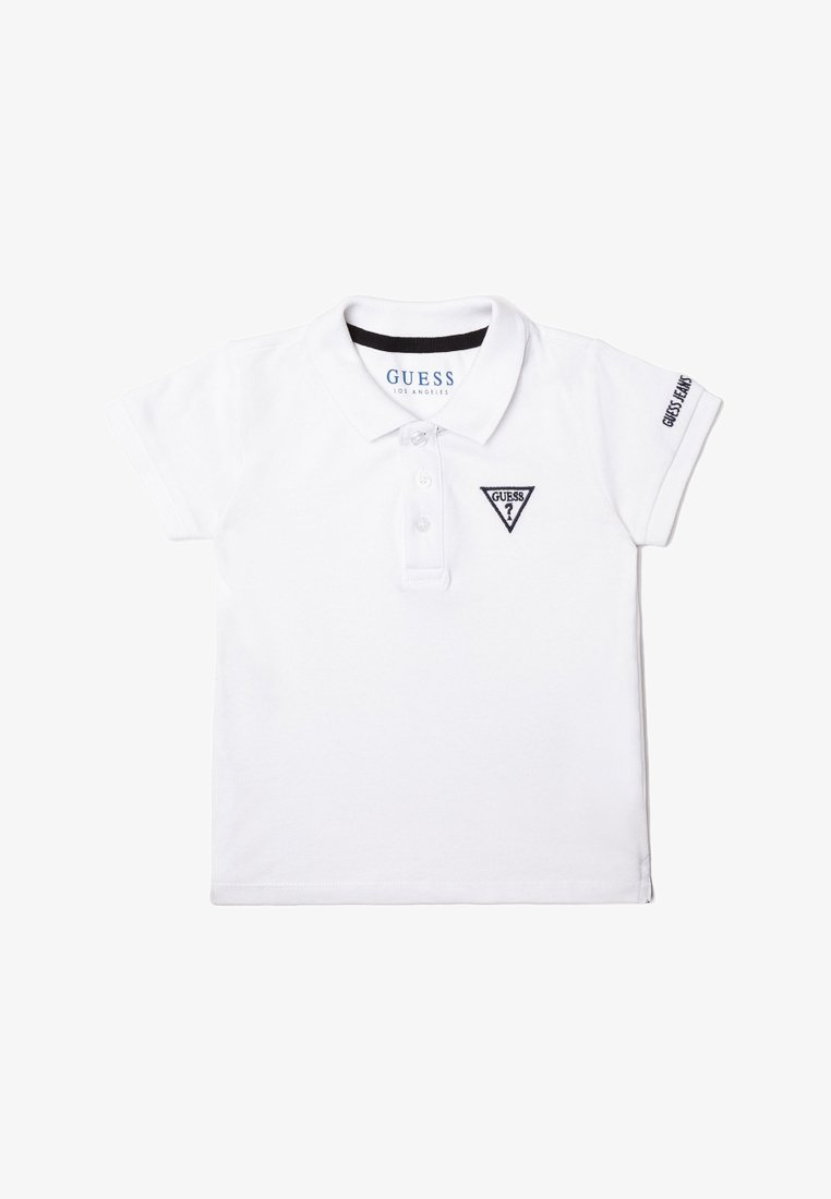 Guess - LOGODETAIL - Polo shirt - white