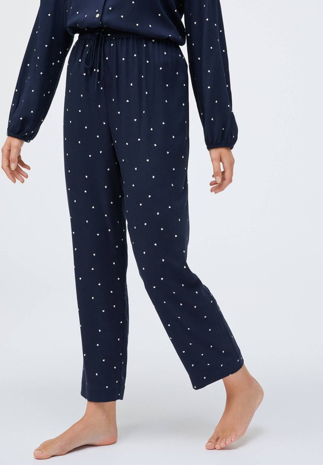 NAVY HEARTS - Pantaloni del pigiama - dark blue