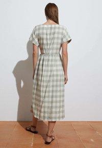 OYSHO - VICHY - Jumper dress - light green - 2