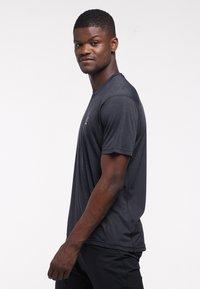 Haglöfs - Print T-shirt - true black - 2