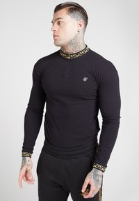 SIKSILK - LONG SLEEVE CHAIN  - Long sleeved top - black/gold - 4