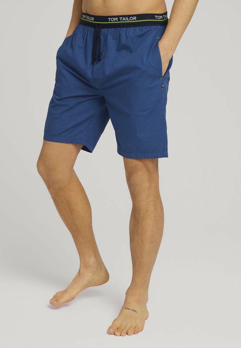 TOM TAILOR - Boxer shorts - blue-medium-check