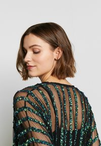 MANÉ - CETO DRAWSTRING - Summer jacket - washed black/emerald - 3