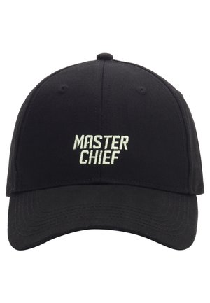 MISTER TEE CAP MASTER CHIEF CURVED CAP - Cappellino - black/mc