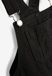 Next - PINAFORE - Denim dress - black - 2