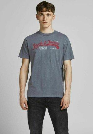 Print T-shirt - ebony