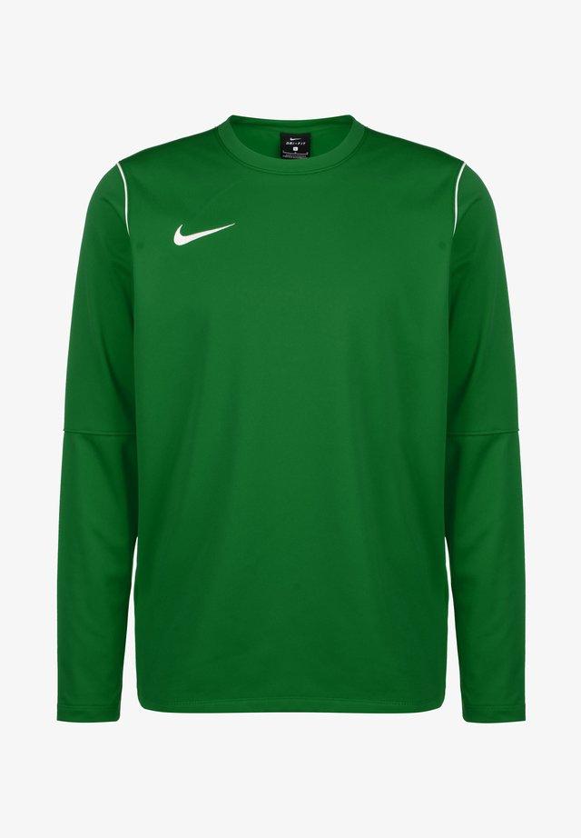 PARK 20 DRY CREW HERREN - Bluzka z długim rękawem - pine green / white