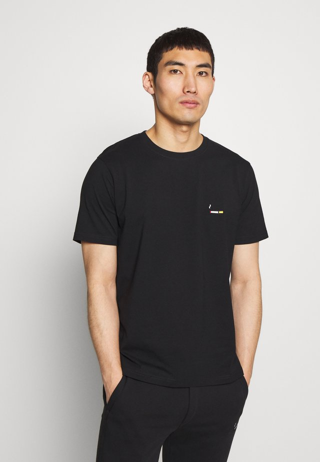 CIGARETTE SMALL - Basic T-shirt - black