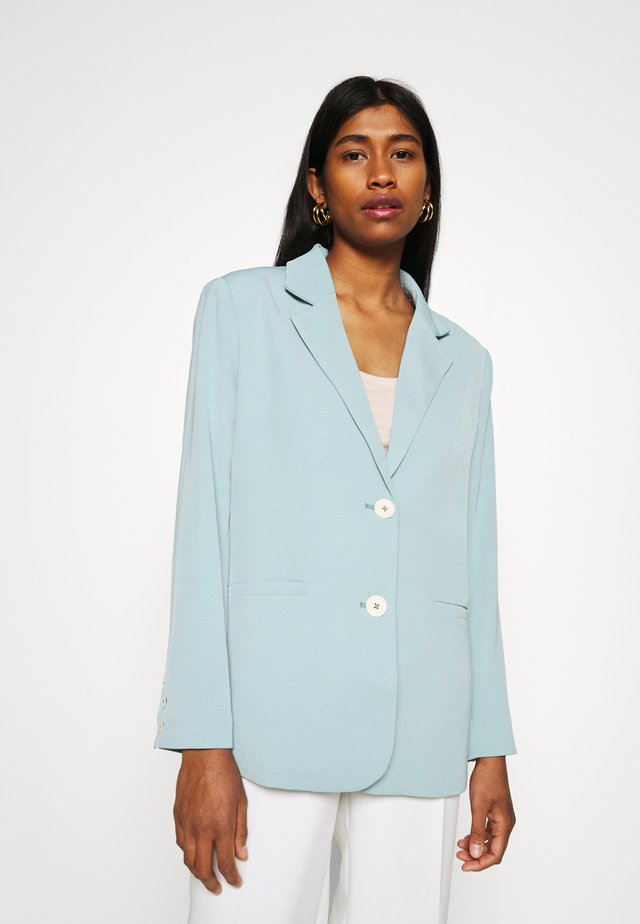 SHINE - Short coat - blue