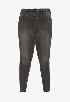 LONG AMY - Jeans Skinny Fit - grey denim