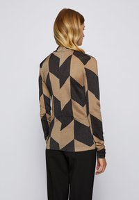 BOSS - ELITERI - Long sleeved top - patterned - 2